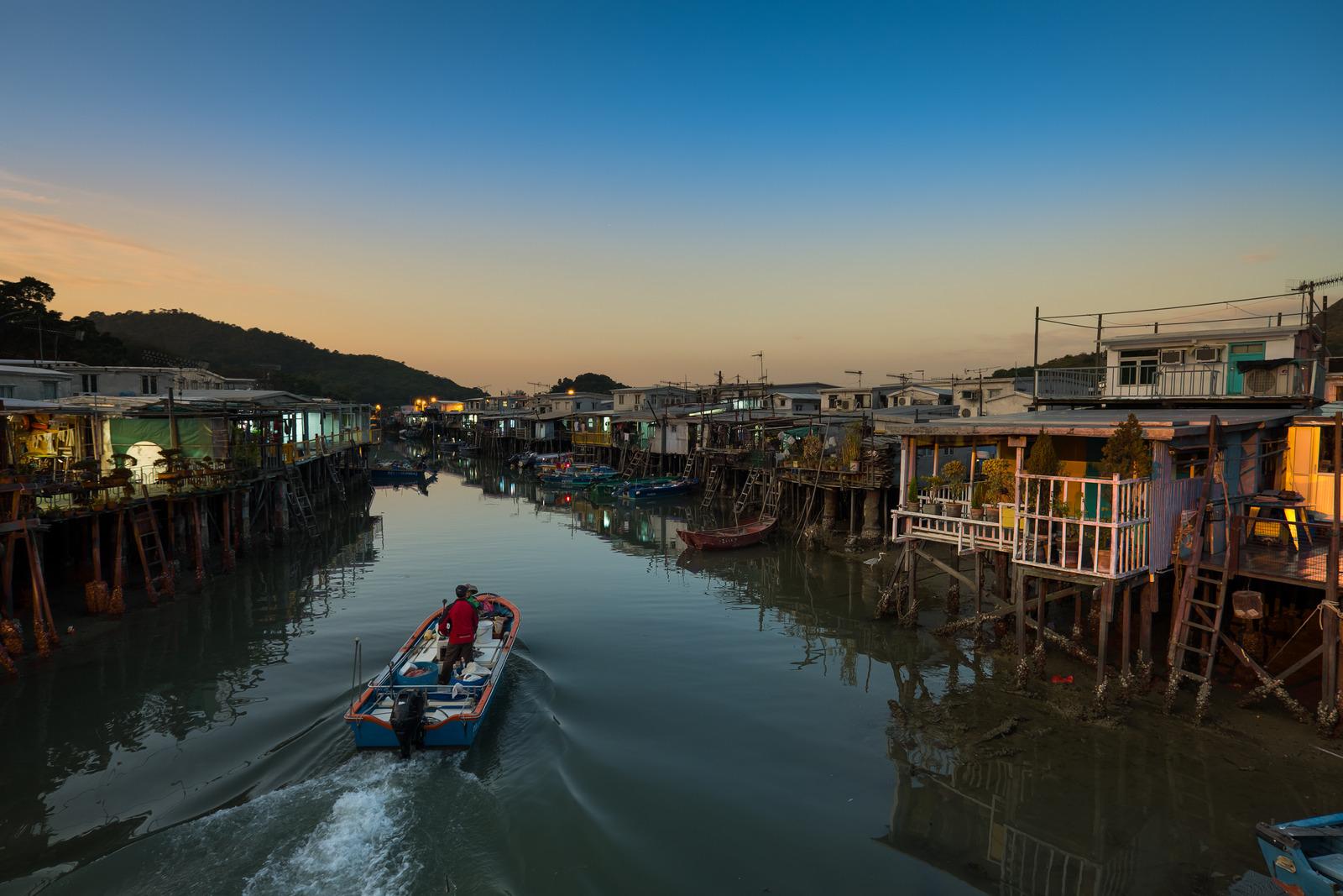 Fishing Village Tai O, Hong Kong